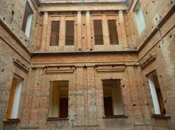 As grandes janelas da Pinacoteca